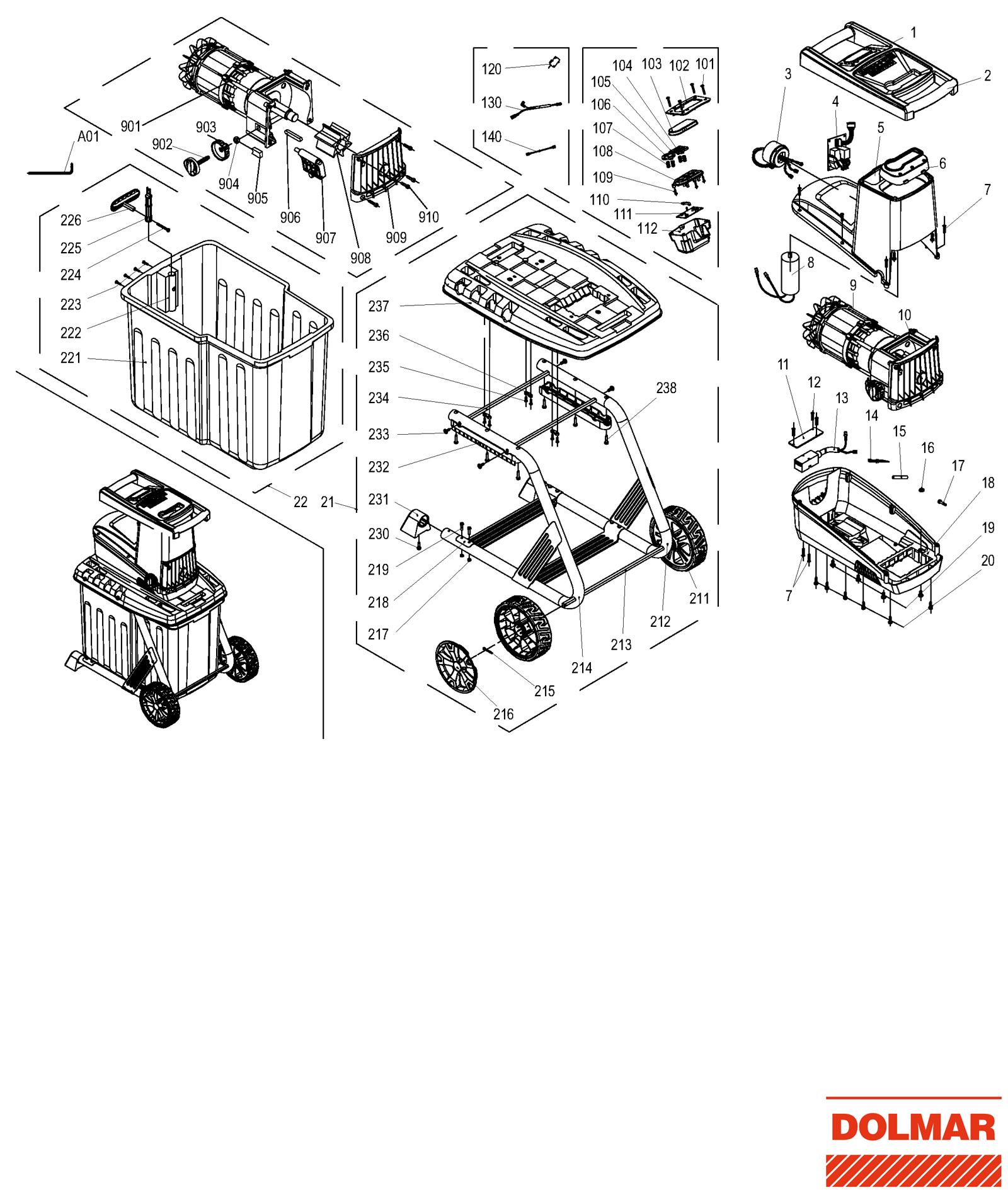 elektro h cksler ersatzteile dolmar online. Black Bedroom Furniture Sets. Home Design Ideas