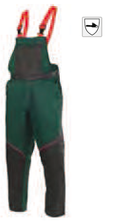 """Schnittschutzhose Latzhose """"Plus"""" - Qualitäts Forstbekleidung von DOLMAR"""